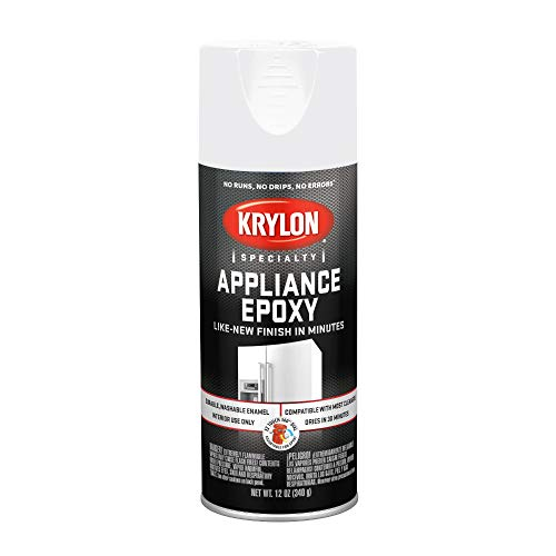 Krylon, White, Sherwin Williams K03201 Appliance Epoxy, 12 oz
