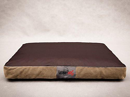 Hobbydog Hundematratze Folk Standard XL 110x90 Kodura/Cord Farbe 7 Dunkelbraun Hundebett