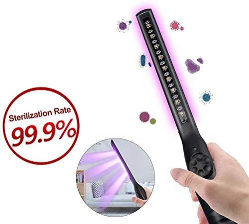 LMEIL UV-Sterilisator, 4,5 W UV-Reise-Top-UV-Wand-Desinfektionsmittel für Bettwanzen auf Hotelmatratze Handy, Smartphone, Spielzeug, Badezimmer, Kosmetik, UVC-Zauberstab