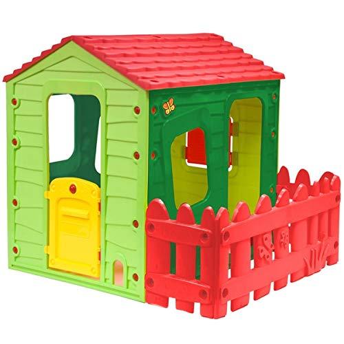 Sun&Sport - Casetta per Bambini Cottage House - Casa Giocattolo da Giardino