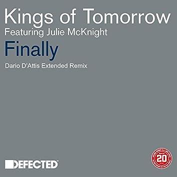 Finally (feat. Julie McKnight) [Dario D'Attis Extended Remix]