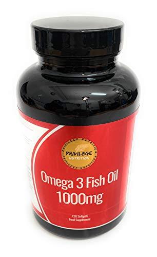 Omega 3 Fish Oil 1000mg | 120 Softgels