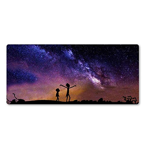 `Star Empty Mouse mat, Anime Mouse Pad Office Mice Gamer Soft Large Locking Edge Mouse Pad Super Hot PC Computer Gaming Laptop Mousepad (Size : 800x300x2)