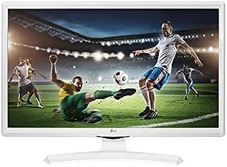 """LG 24MT49VW 24"""" HD LED Matt White Flat computer monitor - computer monitors (61 cm (24""""), 1366 x 768 pixels, HD, LED, 250 ..."""