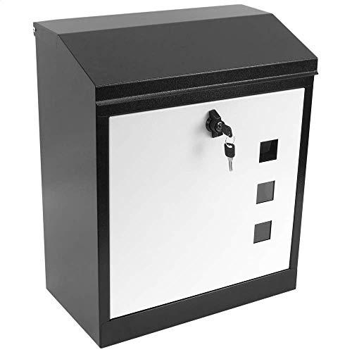 PrimeMatik - Buzón de Acero para Paquetes 435 x 520 x 250 mm