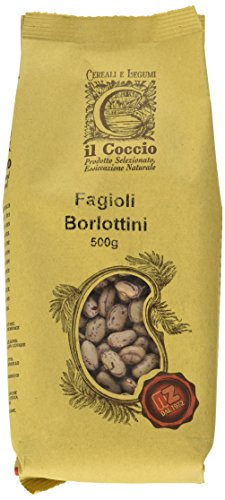 Il Coccio Fagioli Borbottini Italiani - Pacco da 10 x 500 gr - Totale: 5000 gr