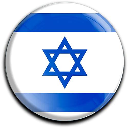metALUm r&er Acrylmagnet mit starkem Neodym - Magnet Flagge Israel #1310045