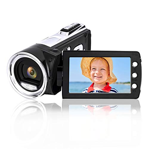 Cámara de Video Digital Heegomn para vlogging de Youtube, Mini videocámara de Video DV 1080p para niños/niños/Principiantes/Adolescentes