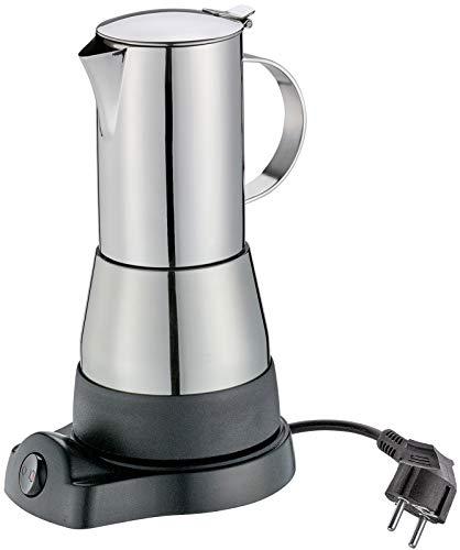 Cilio 273694 Espressokocher Aida 6 Tassen Elektrisch, Edelstahl