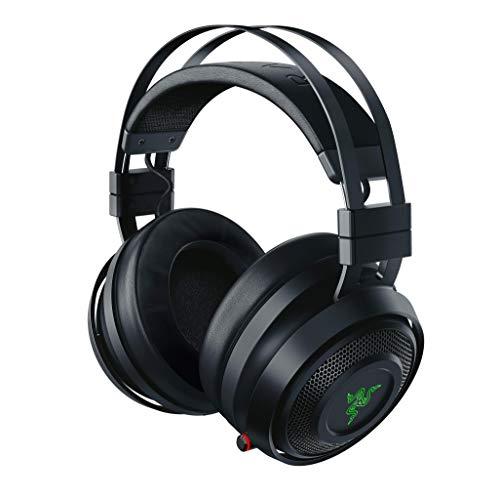 Razer Nari – Wireless Gaming Headset (Kabellose Kopfhörer, Tragekomfort ohne Kompromisse, 16 Stunden Akku-Laufzeit, THX Spatial Audio & RGB Chroma Beleuchtung für PC, Xbox One, PS4 & Switch) Schwarz