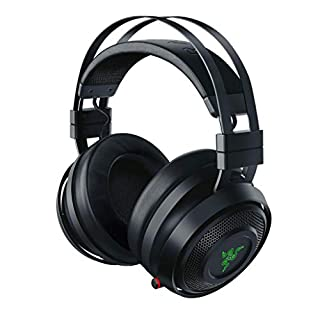Razer Nari - Wireless Gaming Headset (Wireless Headphones, Comfort without Compromise, 16 Hours of Battery Life, THX Spatial Audio and RGB Chroma Lighting for PC, Xbox One, PS4 and Switch) (B07G1Y2K5F) | Amazon price tracker / tracking, Amazon price history charts, Amazon price watches, Amazon price drop alerts