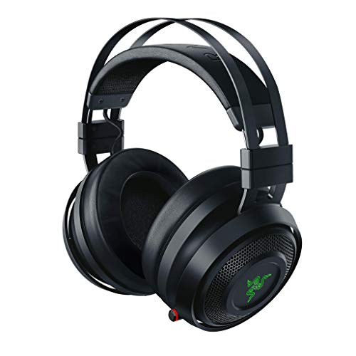 Razer Nari – Kabelloses Gaming Headset (Wireless Gaming Headset mit THX Spatial Audio 360°, Schwarz für PC, PS4, Xbox One & Switch