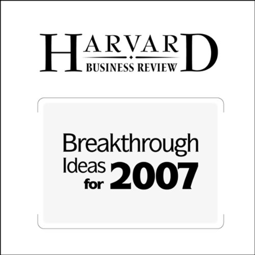 Breakthrough Ideas for 2007 (Harvard Business Review) cover art