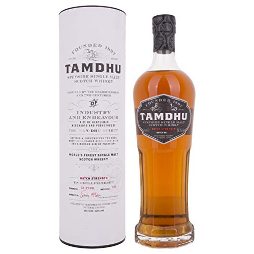Tamdhu BATCH STRENGTH No. 3 Speyside Single Malt Scotch Whisky + GB 58,30% 0.7 l.