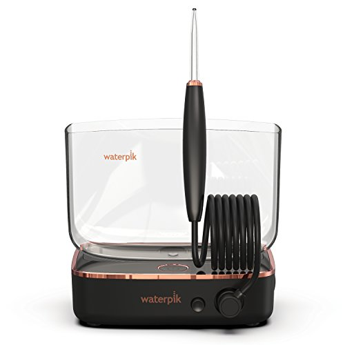 Waterpik Sidekick Portable Water Flosser for Travel & Home, Black/Copper