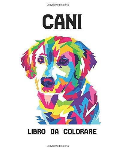 Libro da Colorare Cani: 50 Cani Disegni Libro da Colorare Allevia lo Stress per cani su un lato Libro da Colorare per Adulti Cani per alleviare lo ... da colorare per cani Libro Colorare Animali