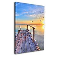 Skydoor J パネル ポスターフレーム 海の景色 インテリア アートフレーム 額 モダン 壁掛けポスタ アート 壁アート 壁掛け絵画 装飾画 かべ飾り 30×40