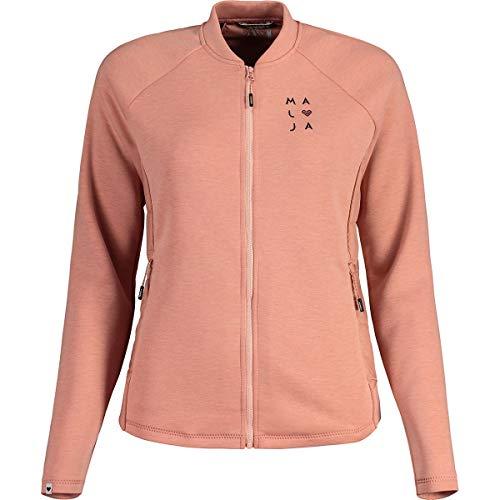 Maloja W Merlotscham. Jacke Pink, Damen Primaloft Jacke, Größe L - Farbe Lotus