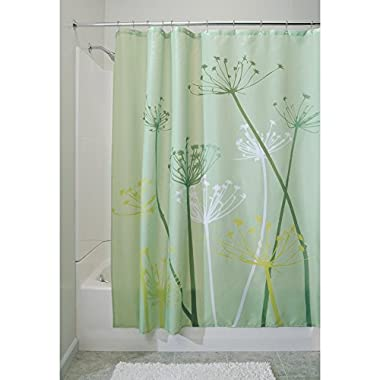 InterDesign Thistle Shower Curtain, Standard - Green