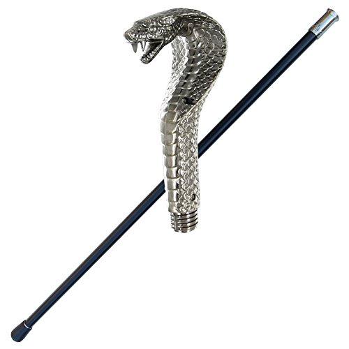 Snake Charmer King Cobra Walking Cane