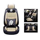 HRFHLHY Housse de siège Auto en Cuir PU Compatible avec Les séries Jeep: Renegade,...