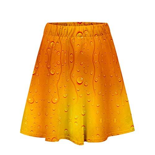 Herren Beer Festival 3D Druck Langarm Hoodies Sweatershirt Tops Sommer Bier dünne Kurzarm Baseball Bekleidung Ladies\'3D einfach lässig Shorts Hosen Printing Einfacher, lässiger, kurzer Rock
