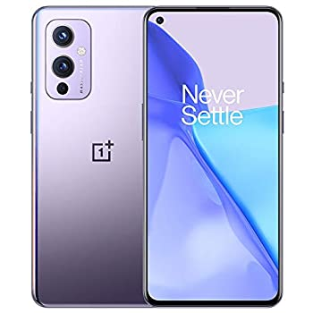 OnePlus 9 Winter Mist 5G Unlocked Android Smartphone U.S Version 8GB RAM+128GB Storage 120Hz Fluid Display Hasselblad Triple Camera 65W Ultra Fast Charge 15W Wireless Charge with Alexa Built-in