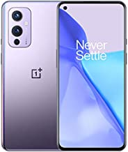 OnePlus 9 Winter Mist, 5G Unlocked Android Smartphone U.S Version, 8GB RAM+128GB Storage, 120Hz Fluid Display, Hasselblad Triple Camera, 65W Ultra Fast Charge, 15W Wireless Charge, with Alexa Built-in