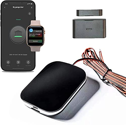 Universal Smart Wi-Fi Garage Door Wireless Remote, WiFi Garage Door Opener,myq Garage Door Opener,Compatible with Amazon Alesxa, Google Assistant