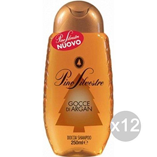 Set 12Kiefer Sylvaner doccia-shampoo New Argan 250Transparent Haarpflege