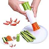 Cucumber Slicer, Strawberry Slicer, Grape Slicer, Carrot Cutter, Potato Cutter, Creative Kitchen Tools, Multi-Function Fruit And Vegetable Slicer, Fruit Salad Making Pizza Fruit Dispenser