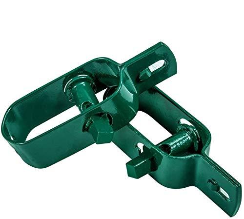 Amagabeli 20 x Tensor de Alambre con Trinquete Cuadrado 2# 95MM Galvanizado en Verde Colador de...