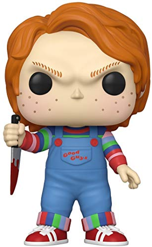 Funko- Pop Movies: Chucky-10 Chucky Figura Coleccionable, Multicolor (49002)