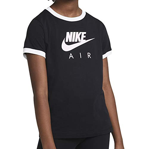 NIKE Air short sleeve t-shirt, Multicolor, L Girls
