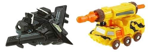 Transformers Cybertron Razorclaw Vs Steamhammer Mini-Cons