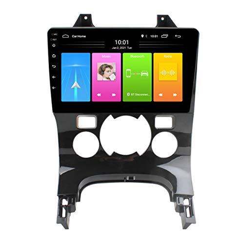 Navigazione GPS per auto, Android 10 per Peugeot 3008 2009-2013, lettore video multimediale per autoradio, supporto riproduzione video 1080P, supporto collegamento specchio,Wifi 1g+16g/ac