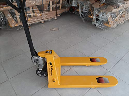 Transpallet Manuale RAMINGTON ® Forche Corte - 2500 Kg - Monorullo