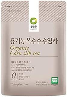 Chung Jung One Organic Tea Resealable Pack 10gx15 tea bags (Corn Silk Tea)