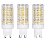 Best to Buy (6-Pack) High Power -Newest Aluminum Body G9-Non-Dimmable-(12W=120W)-110-130V Replacement LED Light Bulb ,Warm White /White (White 5000K)