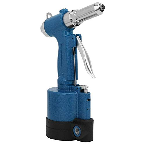 Remachadora neumática de aire comprimido para remaches de 2,4 a 5,0 mm, pistola remachadora de aire comprimido para remaches de acero inoxidable y aluminio