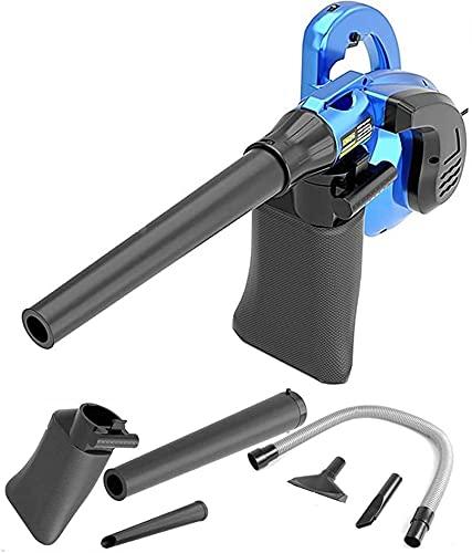 WSVULLD Conveniente soplador eléctrico y Aspirador 2 en 1, soplador de Hojas...