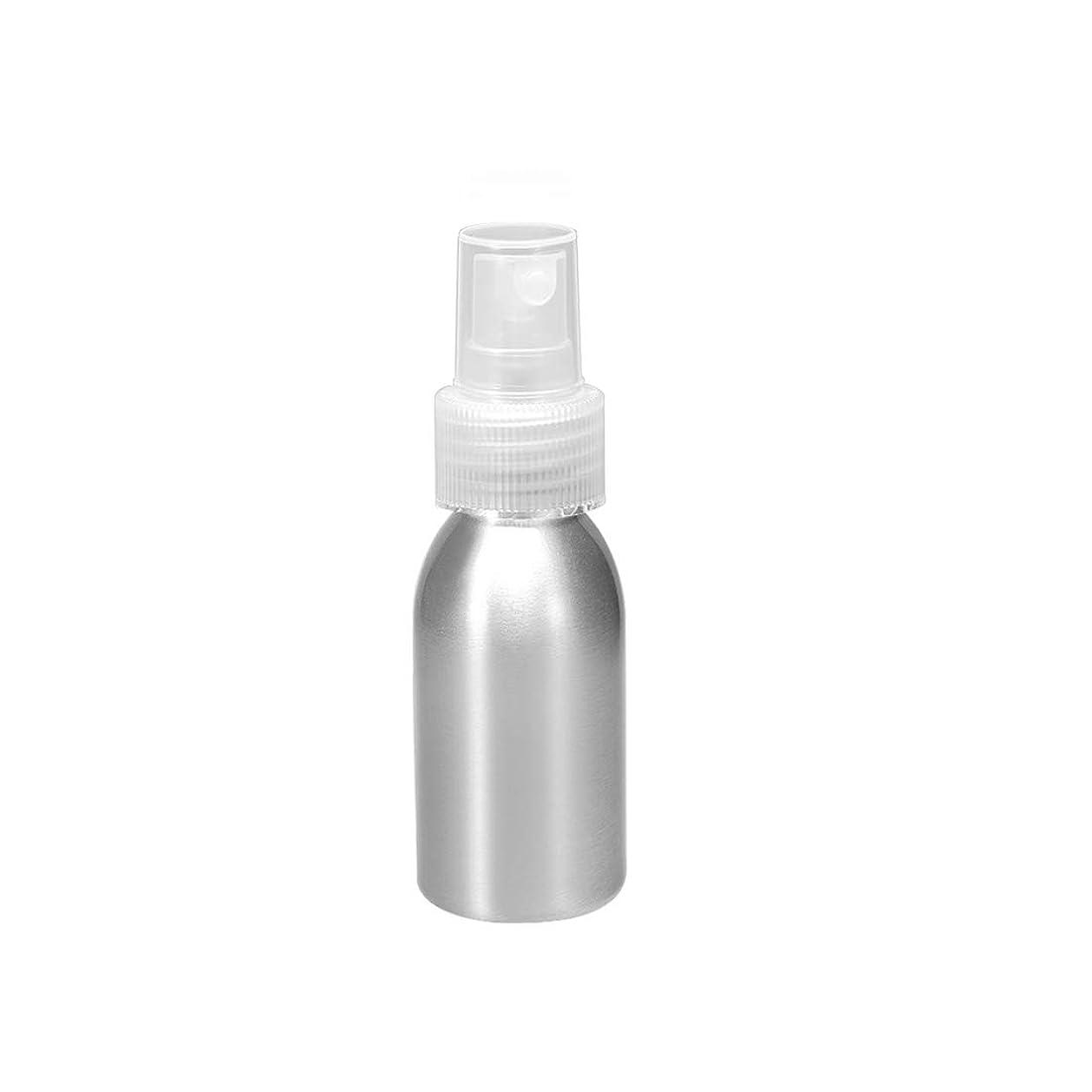 ホールド閉じる理想的にはuxcell uxcell アルミスプレーボトル クリアファインミストスプレー付き 空の詰め替え式コンテナ トラベルボトル 1oz/30ml