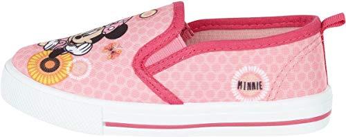 Coole-Fun-T-Shirts Minnie Mouse Mädchen Schuhe Slipper TVM rutschfeste Sneaker Sohle Gr.26