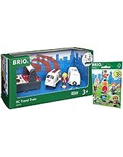 Brio–33510IR Express Train et de voyage ferroviaire 338291x Brio Pack Figurines Série 1