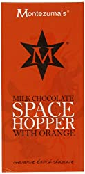 Free from gluten and soya Free from colouring and preservatives Suitable for vegetarians Milk chocolate flavoured with orange