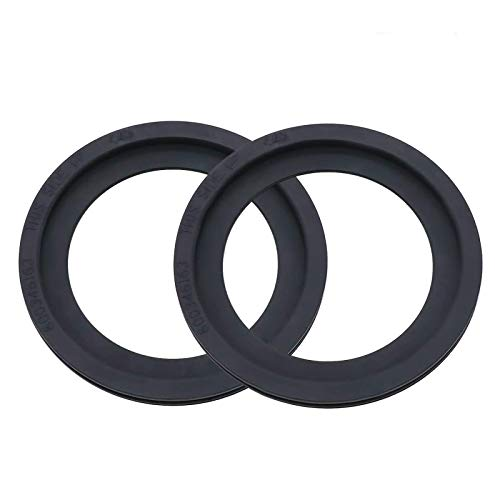Beaquicy 385311658 RV Toilet Flush Ball Ring Seal Kit Replacement for Dometic RV Toilets - Ideal Replacement Gasket for 2 Pack Set