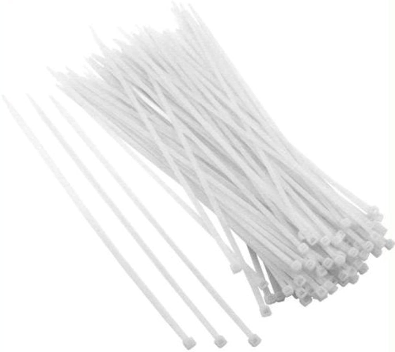 SE CT31920N Heavy-Duty 36  Weiß Cable Ties with 175-lb. Tensile Strength, 20-Pack by Sona Enterprises B0186KAT24 | Sorgfältig ausgewählte Materialien