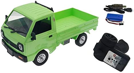 Facibom for WPL D12 1 お得セット 10 Cli ギフ_包装 Truck Simulation 4WD RC Drift