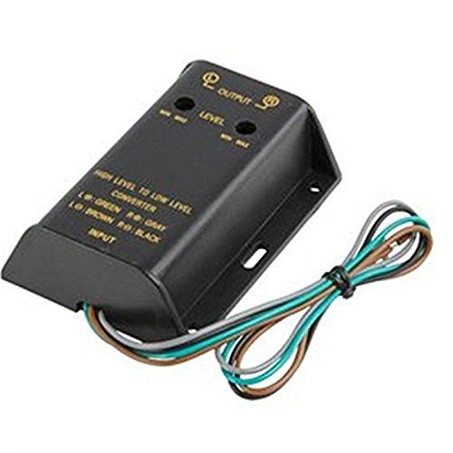 Convertitore interfaccia autoradio da altoparlante ad adattatore RCA