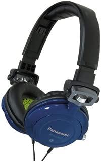 Panasonic RPDJS400A Headphones (Blue/ Black)